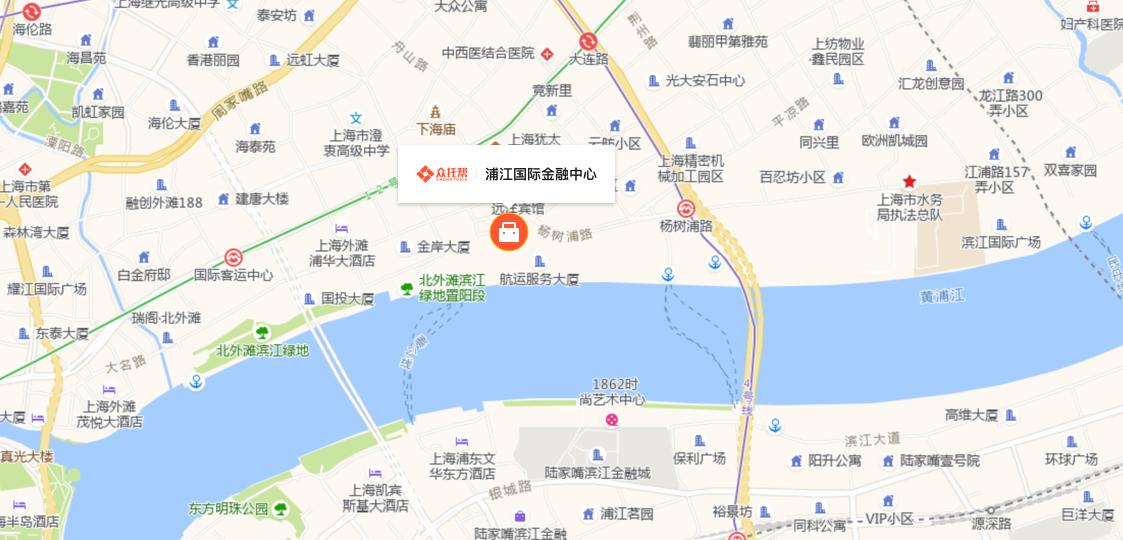 众托帮公司的地图坐标地址